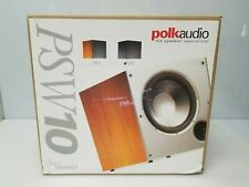 Polk Audio PSW10 Home Theater Powered Subwoofer Black Down Firing Sub, NEW