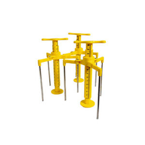 Screed Leveling Tripod 20pcs / Liquid Mortar Checking Height / Fast Installation