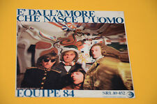 """EQUIPE 84 7"""" 45 29 SETTEMBRE 1° ST ORIG ITALY '60 SOLO COPERTINA ONLY COVER"""