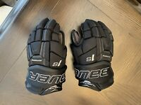 Bauer Supreme 1S Ice Hockey Gloves - Size 11 - Very Good Preowned/Used Condition
