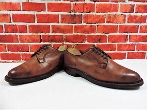 Church's Cheaney Mens Shoes Tan Dainite Derbies UK 7.5 F EU 41.5 US 8.5 Grain