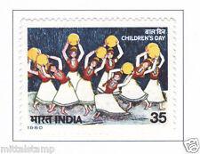 PHILA835 INDIA 1980 NATIONAL CHILDREN DAY MNH