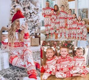 Adult Family Matching Christmas Pyjamas Xmas Nightwear Pajamas PJs Festive Sets