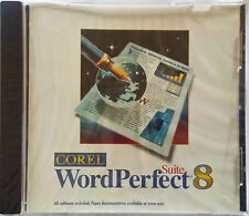 Corel WordPerfect Office Suite 8 Quattro Pro, Presentations, clipart/fonts/fotos