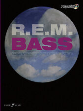 R.E.M Authentic Bass Playalong R.E.M. Pop Rock GUITAR Tab FABER Music BOOK & CD