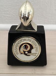 Vintage Avon NFL Decanter Washington Redskins Full Aftershave Football