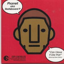 Pharrell-Can I Have It Like That cd single