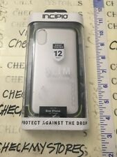 New Incipio for iPhone X Case Dual Later Protection Shockproof Slim Clear