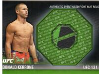 2012 Topps UFC Knockout Fight Mat Relics Green #FMDC Donald Cerrone/88