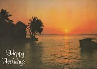 "*Postcard-""Happy Holidays"" /Seasons Greetings/...Beautiful Scenic View- (#417)"