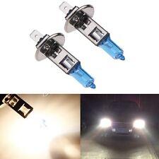 2pcs H1 12V 100W Xenon White 6000k Halogen Fog Car Head Light Lamp Globes Bulbs