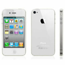 ** FAULTY ** Apple iPhone 4S 32GB White Smartphone Unlocked 8MP Siri Parts Only