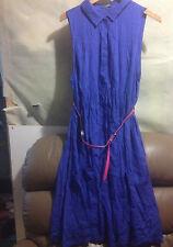 PATCH MATERNITY (PUMPKIN PATCH) BELTED SHIRT  DRESS BNWT SZ XL (A80) FREE POST