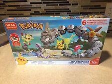 Mega Construx Pokemon Onix Super Battle Building Set FVR55 w/ Pikachu & Pokeball