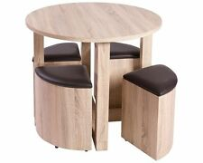 Up to 4 Round Contemporary Kitchen & Dining Tables
