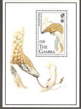 1993   GAMBIA  -  SG  MS 1499  -  LONG TAILED PANGOLIN   -  UMM