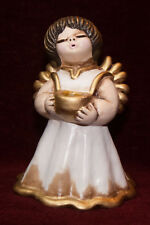 THUN Engel BOZNER Engel  15 cm hoch *TOP* natur+gold Weihnachten / Advent Bozen