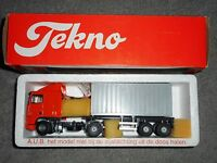 TEKNO- échelle 1/50 - DAF 95XF / 380 tracteur  2 essieu  Semi remorque conteneur