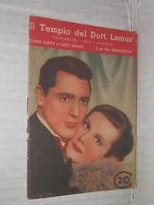 IL TEMPIO DEL DOTT LAMAR Paramount Elena Mack e Cary Grant Moneta 1935 romanzo