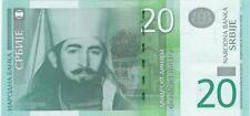 A  SAISIR   CE   BILLET      SERBIE  20   DINARA    2006     !!!!    NEUF  . UNC