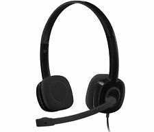 Logitech Wired 1.8M Over-Ear Gaming Headphone Headset H151 Stereo With Mic