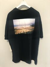 Fear Of God FOG Essentials Graphic Boxy Photo Print T-Shirt Size M Black Jerry