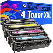 4 Toner ProSerie für HP Laserjet CM 2320 NF MFP CC530A
