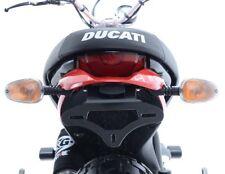 Support De Plaque Noir R&G Ducati Scrambler Icon 2015 hauteur 130 mm