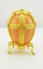 Faberge Danish Palace Egg Figurine (comes with stand)