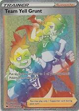 Pokemon - Sword and Shield - Team Yell Grunt - 210/202 - Secret Rare  - NM/M