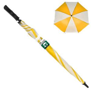 1pce Yellow 77cm Golf Umbrella Large Automatic Open Waterproof