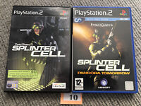 Sony Playstation 2 Ps2 Tom Clancy Splinter Cell And Pandora Tommorow