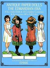 Antique Paper Dolls- The Edwardian Era ~8 Two-Sided Dolls~32 Complete Costumes