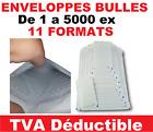 de 1 à 5000 enveloppes a bulles blanche PRO pochettes matelassées expédition  <br/> enveloppe bulle pochette protection pour envoi poste