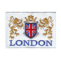 London Flag Embroidered Patch