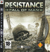 RESISTANCE FALL OF MAN for Playstation 3 PS3
