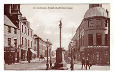 St Catherine Street - Cupar Photo Postcard c1910 / St Andrews