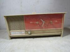 Vintage Sears Silvertone 7033 7035 Tube Alarm Clock Radio 1960's 70's