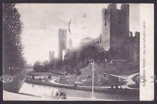TREVISO CASTELFRANCO VENETO 19 CASTELLO Cartolina viaggiata 1916