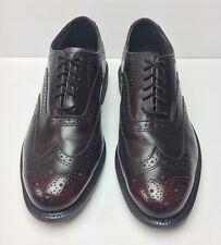 Vintage EXECUTIVE IMPERIALS Brown/Burgundy Brogue Oxford Wingtip Shoes 9.5 E6