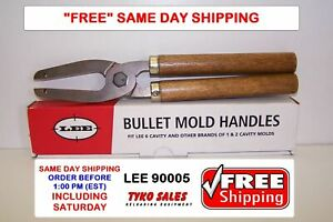 LEE 90005 * LEE 6 CAVITY MOLD HANDLES * ALSO FITS 2-CAVITY RCBS, LYMAN & OTHERS