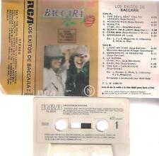 BACCARA Los exitos de  DIFFICULT SPANISH EDITION CASSETTE SPAIN