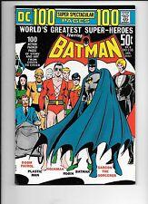 Batman #238 January 1972 Neal Adams wraparound cover DC Super Spectacular DC-8