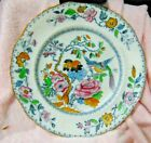 Vintage Ashworth Bros. Oriental Bird & Flowers Dinner Palte Hanley England