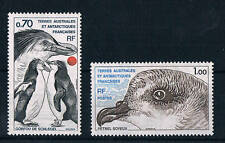 France, 1980, Antarctic Fauna set SG138/9, UM, Catalogue price £4+