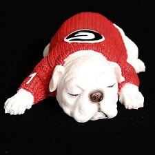 UGA Resin Georgia Bulldog 1-Year Old Puppy Figurine