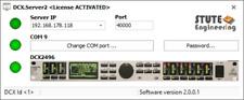 # DCX. Server: Wi-Fi Remote Control System for Behringer dcx2496 #