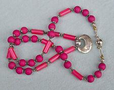 Halskette Kette: de charrue, Modeschmuckm ähnlich Art Deco Kubismus