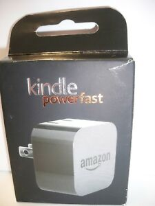 Kindle PowerFast  9W Adapter with folding prongs,  UPC #814916017188