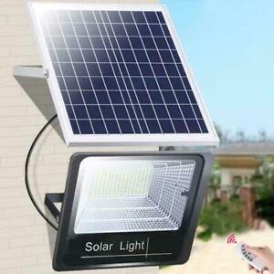 44/170 LED Solar Panel Licht Bewegungssensor Sicherheit Outdoor Floodlight L4E8